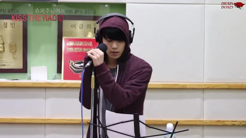 [RUS SUB] Yoo Youngjae (B.A.P) – Lie Lie Lie (Lee Juck Cover) @ 151209 Super Junior's Kiss The Radio