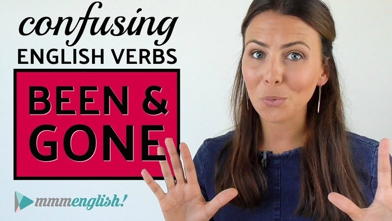 Confusing English Verbs | BEEN GONE
