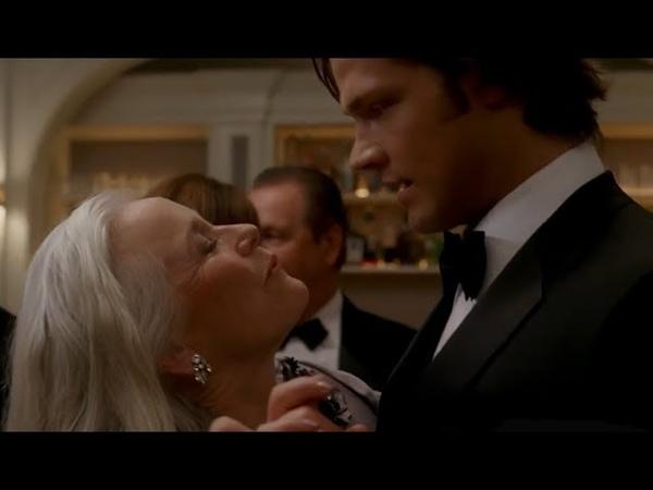 Миссис Кейс жаждет Сэма Сверхъестественное Supernatural