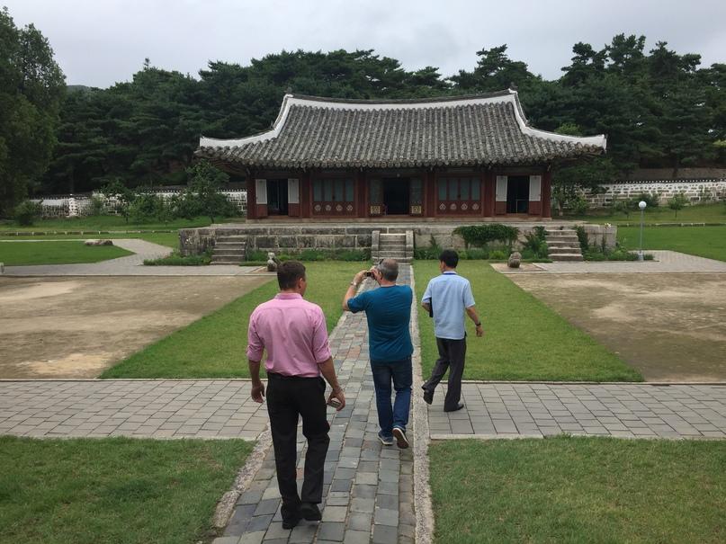 Отчет о путешествии в Северную Корею 2018. Внутренняя территория университета