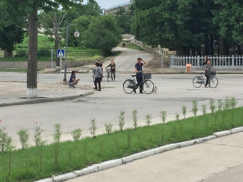 Отчет о путешествии в Северную Корею 2018. Улицы Кэсона
