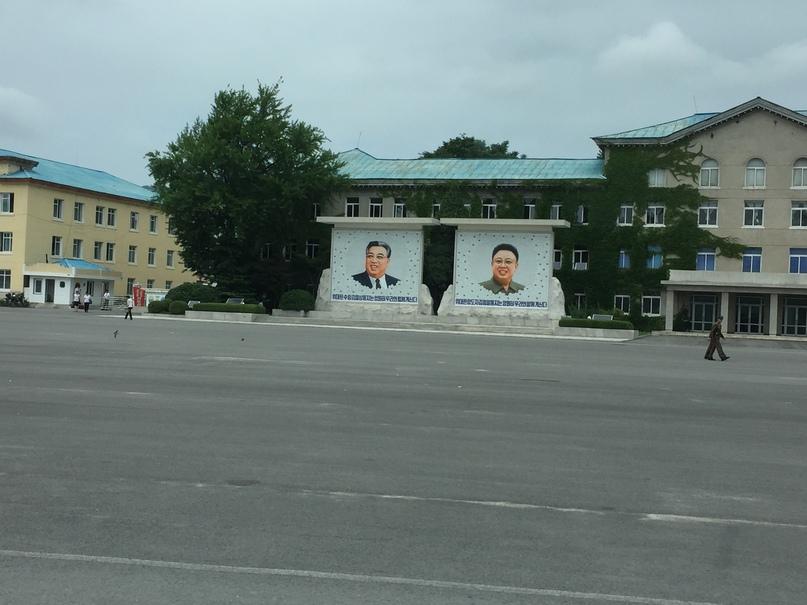Отчет о путешествии в Северную Корею 2018. Ким Ир Сен и Ким Чен Ир