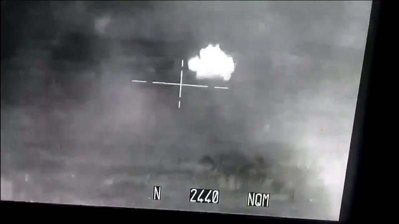 Стрельба танка Т-90А