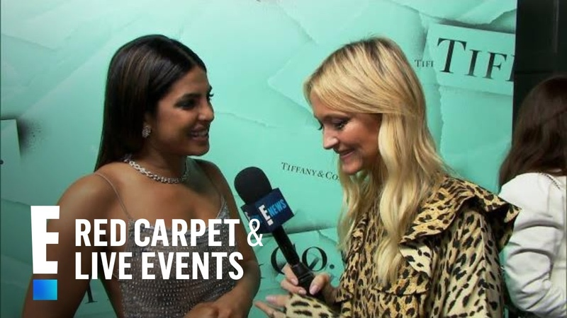 Priyanka Chopra Shows Off Engagement Ring From Nick Jonas | E! Red Carpet Live Events