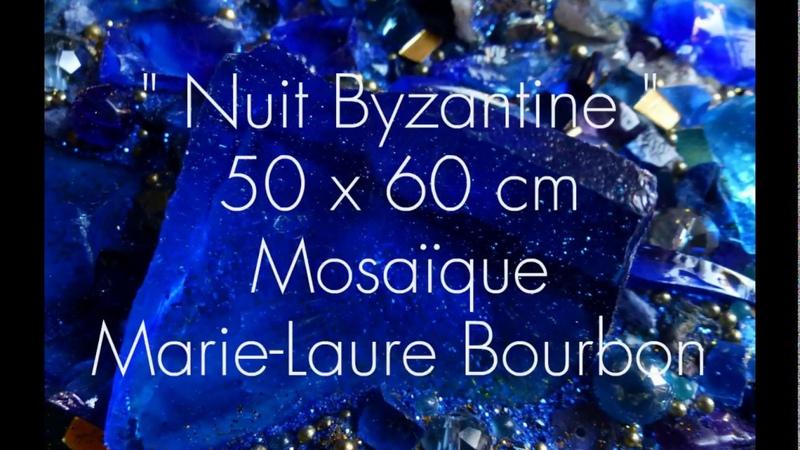 Nuit Byzantine Mosaïque d'Art