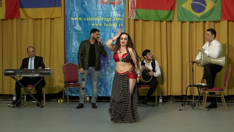 2 place Albina Oriental Modern Live Band, Cairo Mirage 2019. Ya dally Ya rohy.