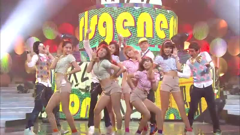 SNSD - U-Go-Girl (Lee Hyo-ri) (200th Special, Show Music Core Live)