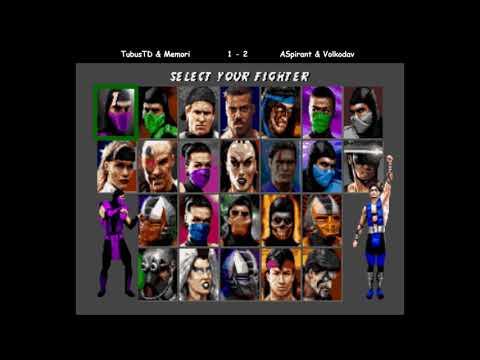 Ultimate Mortal Kombat 3, командный турнир. TubusTD Memori vs Volkodav ASpirant