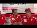 Kimi and Seb about their all-time favourite Ferrari road car - - Seb5 Kimi7 BelgianGP