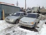 В разборе ВАЗ-2112 и ВАЗ 2114