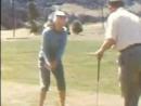 Мэрилин Монро и Джо Димаджио играют в гольф 1952 й год