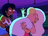 Futurama - Bender becomes human (Gloria Estefan Conga)