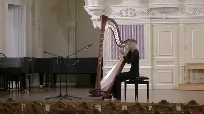 Анастасия Лисицына (арфа) - Принцесса в замке (2012; муз. Габриэля Форе)