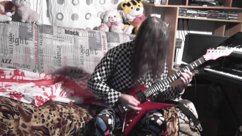 Michael Ctusader - My person little practik,on B.C.Rich,Var,Lessons,N4.