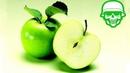 Как разрезать яблоко за 1 секунду?