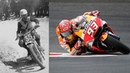 Evolution of MotoGP Riding Styles - From Leaning Out to Elbow Dragging