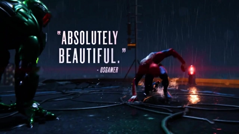 Marvel's Spider Man хвалебный трейлер