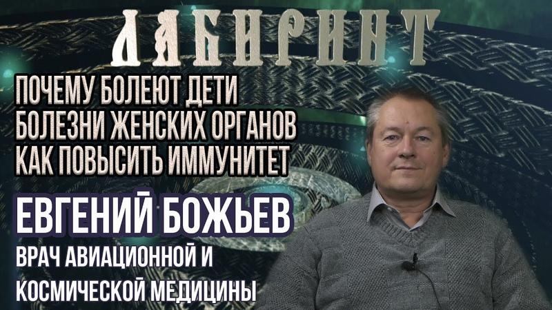 ЛАБИРИНТ | Иммунитет, женские и детские болезни | Евгений Божьев