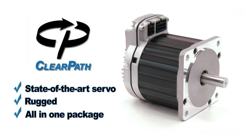 ClearPath: Teknic's Integrated Brushless Servo Motor, Drive and Encoder