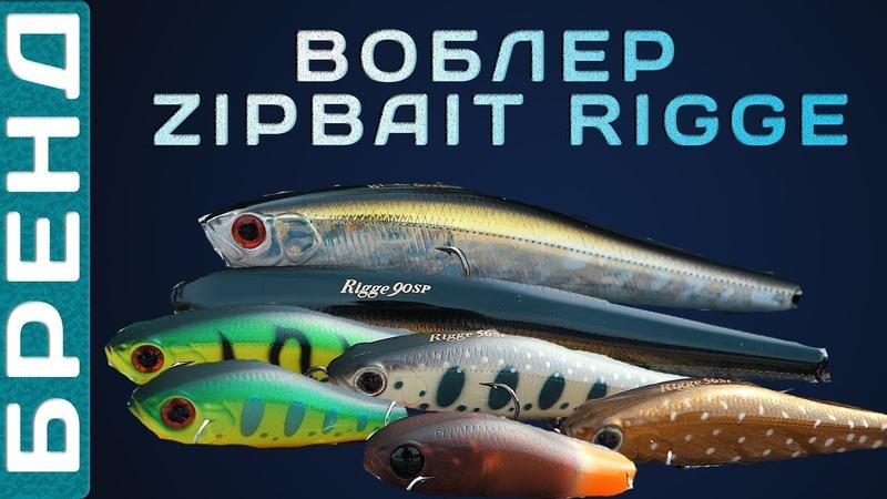 Воблеры ZipBaits Rigge - брендовый обзор! Универсальная приманка на хищника!