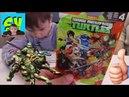 Черепашки Ниндзя Игрушки из пакетиков Донателло и Злодей Распаковка и обзор