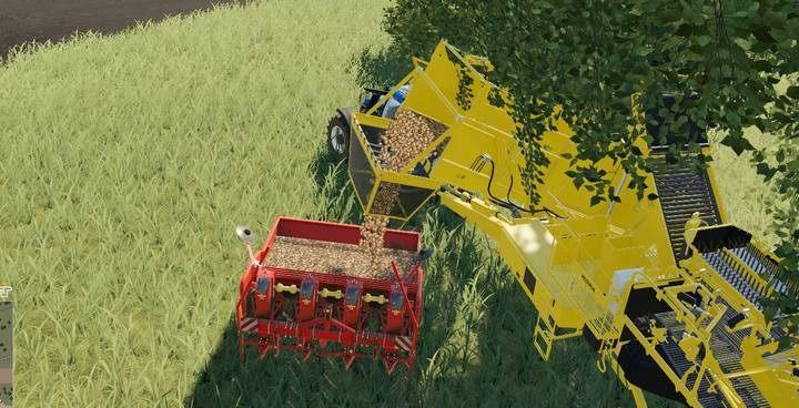 сажалка в Farming Simulator 2019