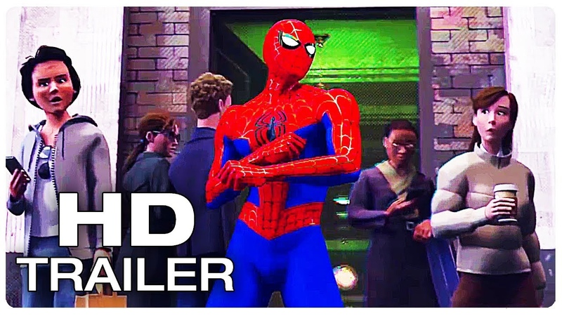 SPIDER-MAN INTO THE SPIDER-VERSE Evil Peter Parker Dance Trailer (NEW 2018) Animated Movie HD