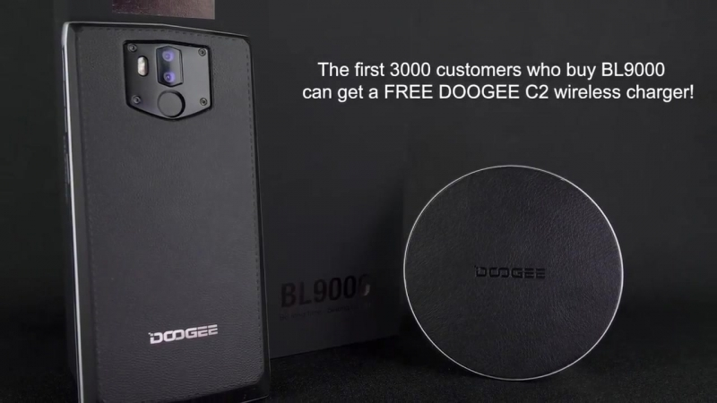 Doogee BL9000 The Newest Wireless charger(gift) aliurl.cn/e5thb4