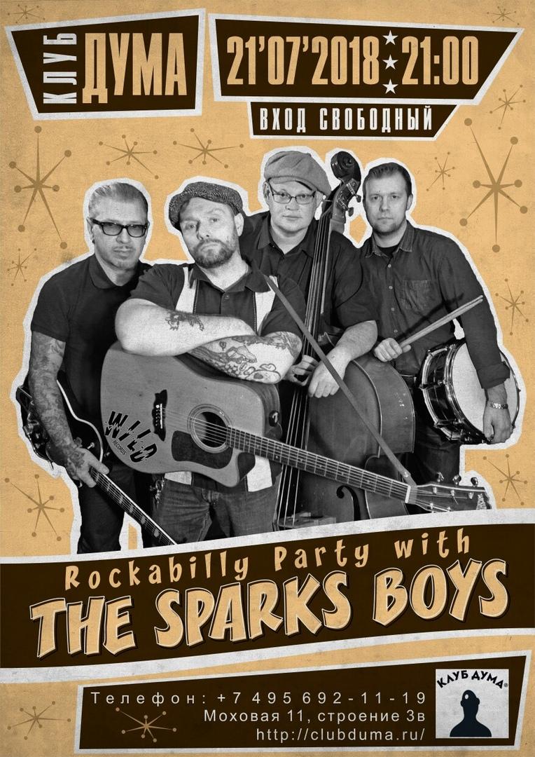 21.07 The Sparks Boys в клубе Дума!