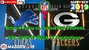 Detroit Lions vs Green Bay Packers | NFL 2018-19 Week 17 | Predictions Madden NFL 19