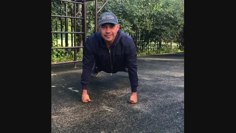 Упражнения на статику от Кости Цзю
