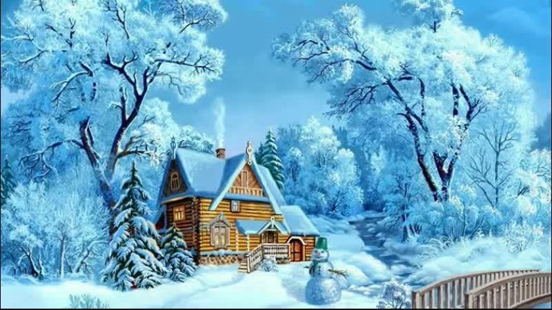 Снежная нежность- работа Ирины Петровой