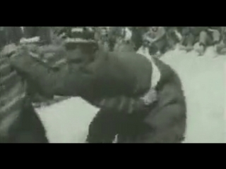 УЗБЕКСКАЯ БОРЬБА НА ПОЯСАХ «КУРАШ» (1957)