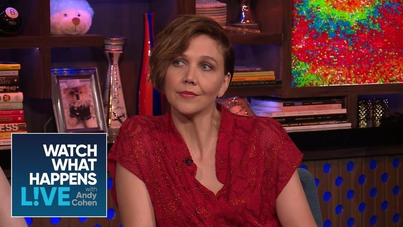 Maggie Gyllenhaal On Heath Ledger's Amazing Acting | WWHL