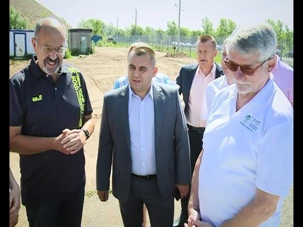 В Уфу приехал президент Комитета Международных детских игр Торстен Раш