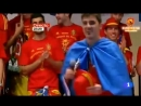 David Villa celebrates the victory at the World Championships