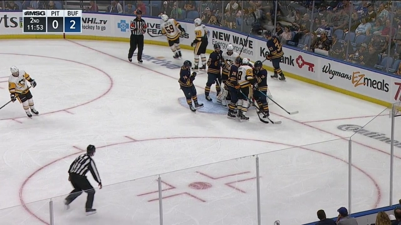 NHL 2018-2019 PS 18.09.2018 Pittsburgh Penguins @ Buffalo Sabres [MSG]