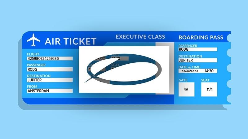 Rodg - Ticket To Jupiter