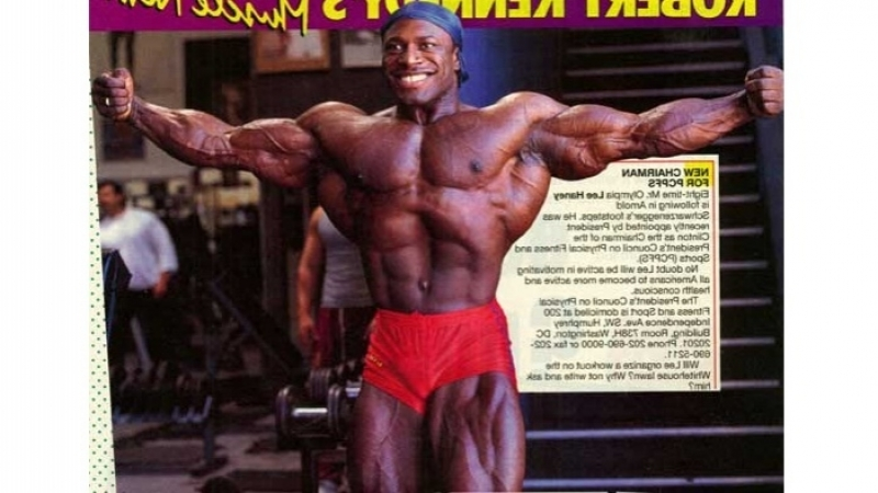 Lee Haney's Mr. Olympia workout - 1988 (rus)