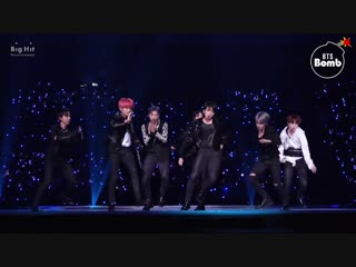 [bangtan bomb] fake love special stage (bts focus) @2018 mama - bts (방탄소년단)