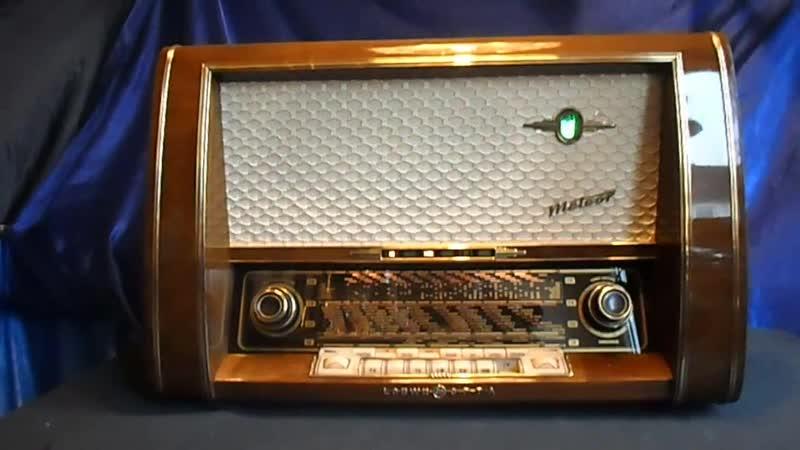 LOEWE OPTA METEOR 1781W Röhrenradio