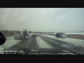 АвтоСтрасть - Новые Записи с Видеорегистратора за 01.12.2018 Video № 1066