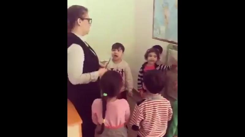 Урок в азербайджанской школе
