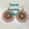 Tutorial 1 orecchini Metis rivoli da 12 ,o beads, superduo