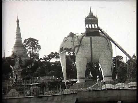 Burma 1935 PWE parade Rangoon 4