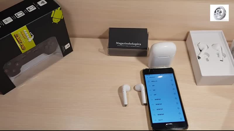 Беспроводные Bluetooth наушники HBQ i7S tws - лучшая копия Apple airpods