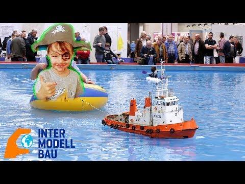 Мистер Сеня на выставке INTERMODELLBAU в ГЕРМАНИИ авиамодели Лодки поезда машинки