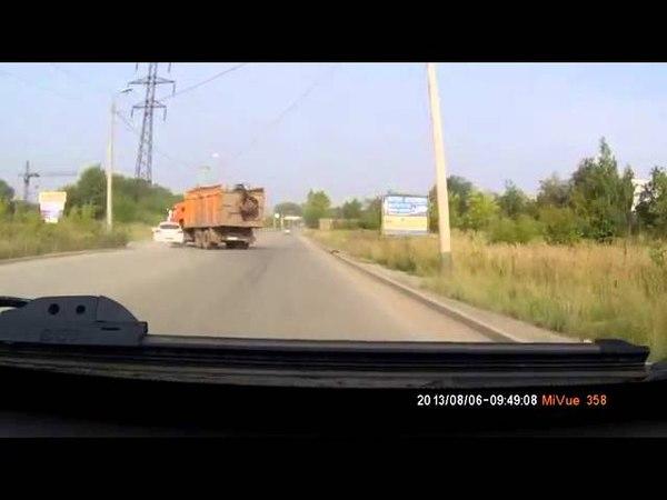 ДТП АВАРИЯ Челябинск. Авария на ул. Автодорожная.