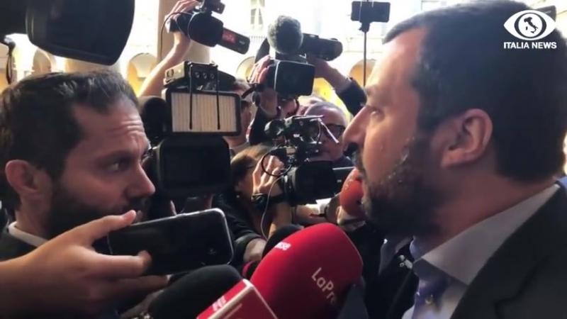 IL MINISTRO MATTEO SALVINI RISPONDE A MOSCOVICI E SPIEGA LA MANOVRA