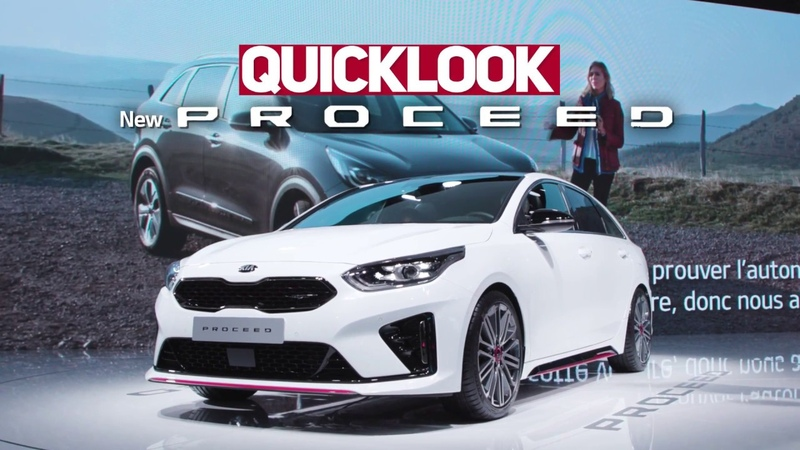 Quick Look ProCeed Paris Motor Show 2018 Kia